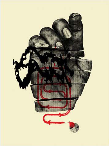 Aesthetic Apparatus Michael Byzewski AGENT STARVE musik art musik posters art of rock musikposter music designe