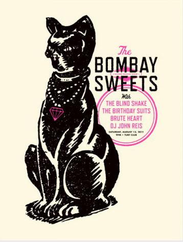Aesthetic Apparatus  Michael Byzewski musik art musik posters art of rock musikposter music designe Bombay sweets