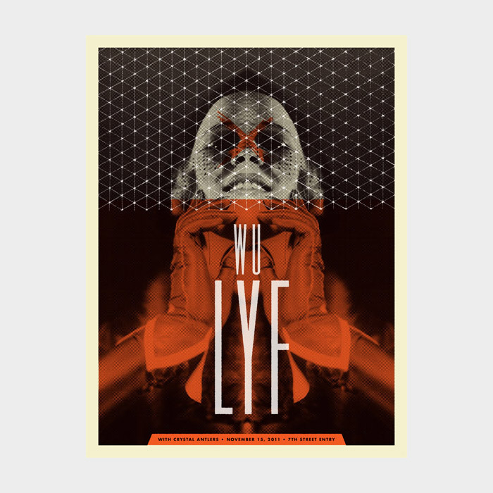 Aesthetic Apparatus Michael Byzewski WU LYF musik art musik posters art of rock musikposter music designe
