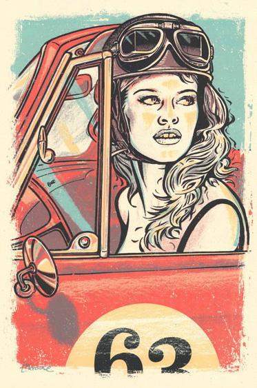 Douze Brigitte Bardot art gallery buy street art screenprint poster art of rock