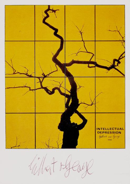 Gilbert & George contemporary art buy print siebdruck poster art MultipleIntellectual Depression