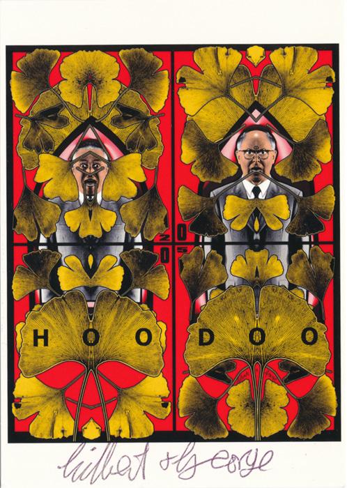 Gilbert & George contemporary art buy print siebdruck poster art Multiple Hoodoo
