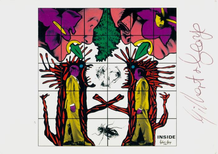 Gilbert & George contemporary art buy print siebdruck poster art Multiple Inside