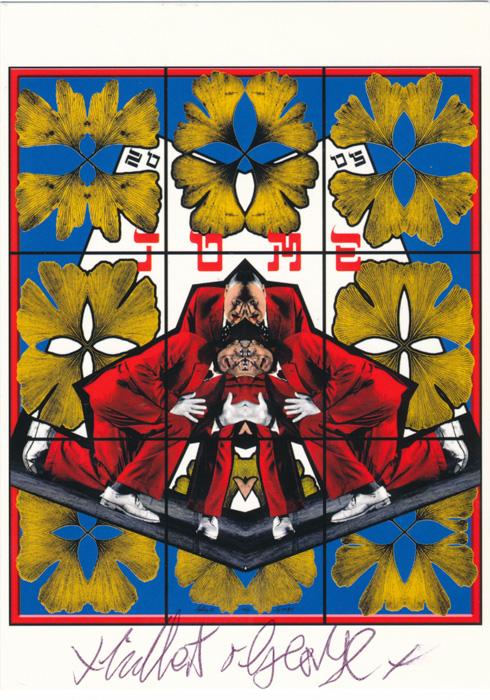 Gilbert & George contemporary art buy print siebdruck poster art Multiple Tome