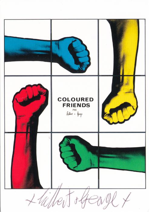 Gilbert & George contemporary art buy print siebdruck poster art Multiple
