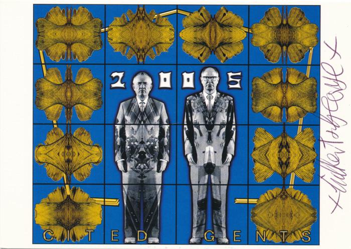 Gilbert & George contemporary art buy print siebdruck poster art Multiple Cited Gents