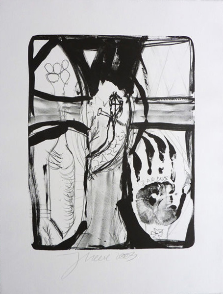 Jonathan Mees Griffelkunst Radierung Lithographie