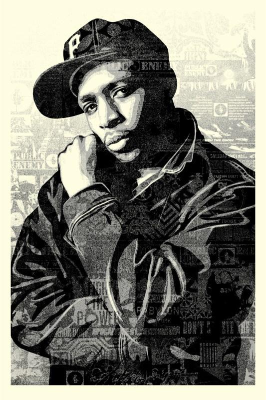 Shepard Fairey print