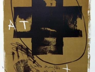 Antoni Tapies contemporary art buy print Johannes Grützke