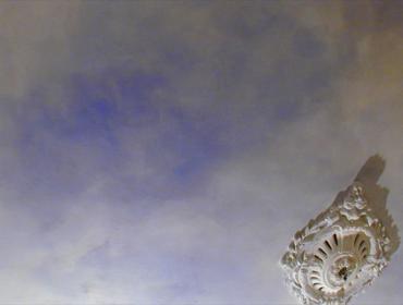Illusionsmalerei Dekorationsmalerei trompe l'oeil Schablomierung Deckenbild Deckenmalerei