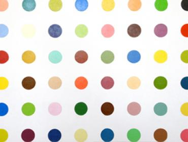 Damian Hirst contemporary art buy print young british artist