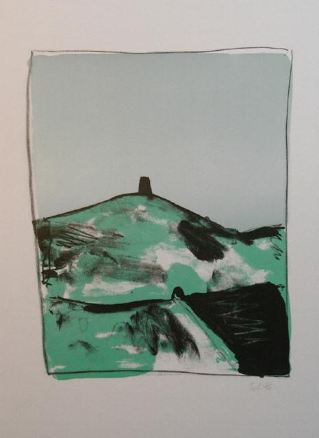 Thomas Schütte Radierung Griffelkunst verkauf contemporary art Topkünstler Burg